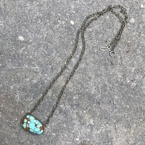 Jewelry - Number 8 Turquoise SS Necklace